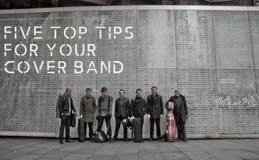 Five top tips for your cover band