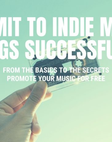 Submit to Indie Music Blogs and music review sites and promote your music for free