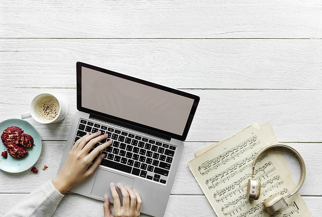 musical band website