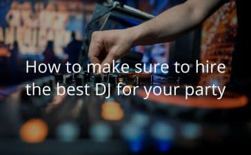 guest post dj for party