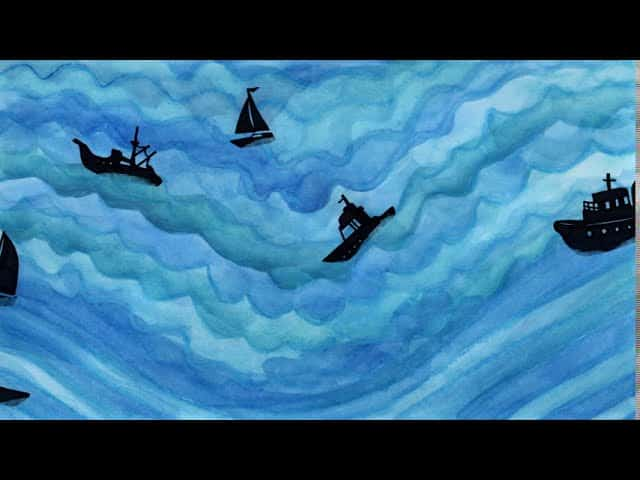 Premiere: Ship In A Bottle by Michael Golden